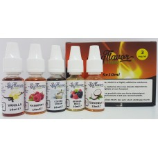 Mix Series Liquid CLASSIC - Pack 5 pcs 3mg/ml